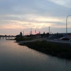 Sunset at the Flying Beaver
